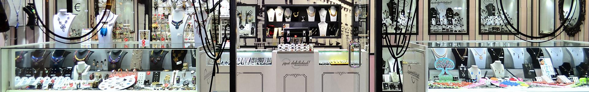 tienda de bisutería y plata de Ley en Coslada Madrid